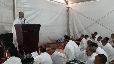 Khutbah Wukuf 2019 Mengusung Tema 'Menggapai Haji Mabrur di Arafah'