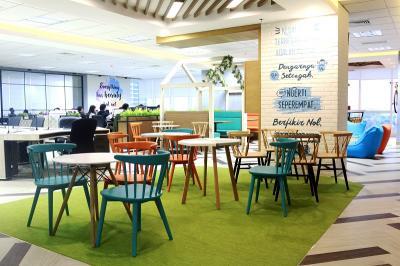Victoria Care Indonesia Usung Kantor Baru Berkonsep Milenial Office