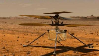 Juli, NASA Luncurkan Helikopter Pertama ke Mars