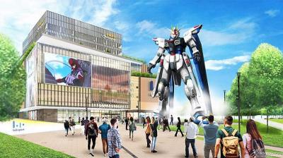 Patung Gundam Raksasa Siap Sambut Turis di China