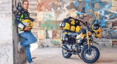 Demi Rekor, Pria Portugal Nekat Naik Motor Keliling Dunia 2 Tahun