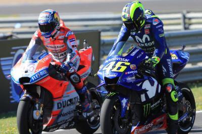 Capirossi Berikan Tanggapan soal Spekulasi Masa Depan Rossi dan Dovizioso di MotoGP