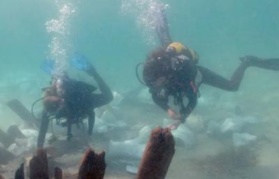 Simbol Islam Ditemukan pada Kapal yang Karam 1.300 Tahun Silam