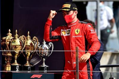 Leclerc Beruntung Bisa Finis Ketiga di F1 GP Inggris 2020