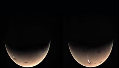Penampakan Awan Misterius di Mars Terlihat Lagi Sejak 2018
