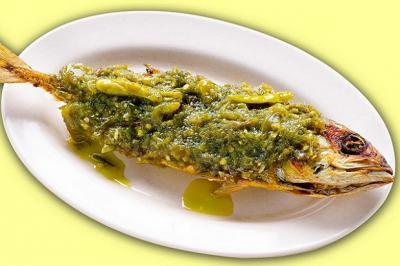 Resep Ikan Kembung Cabai Ijo ala Masakan Padang