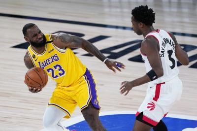 Raptors vs Lakers, LeBron James Akui Kemenangan sang Juara Bertahan