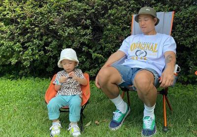 Kang Gary Gugup Lepas sang Putra Masuk Sekolah