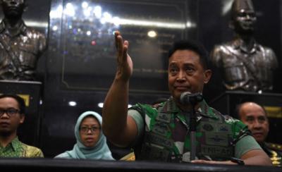 KSAD Andika Perkasa Sebut 85,6 Persen Prajurit TNI di Secapa Sudah Negatif Corona