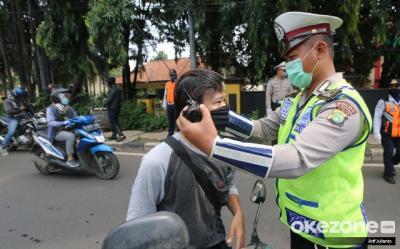 Total Sanksi Denda Pelanggar PSBB Transisi Capai Rp1,5 Miliar