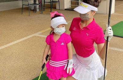 Farah Quinn Kenalkan Hobi Mahal Golf ke Baby Yaya, Gumush Deh