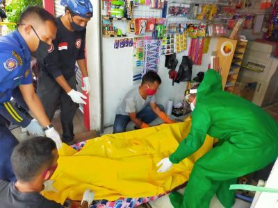 Mayat Pria Membusuk di Toko Fotocopy Gegerkan Warga Kota Bogor
