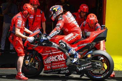Ciabatti: Ducati Tak Tutup Kemungkinan Lepas Dovizioso di MotoGP 2021