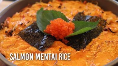 Resep Salmon Mentai Rice Ala Chef Devina Hermawan, Yummy!