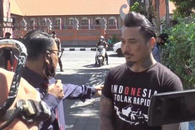 Penuhi Panggilan Polda Bali, Jerinx SID: Semua Akan Baik-Baik Saja