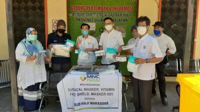 MNC Peduli Salurkan Bantuan Alat Pelindung Diri untuk RSUD Haji Provinsi Sulsel