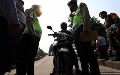 5.435 Pengendara di Jakbar Ditindak Selama Operasi Patuh Jaya