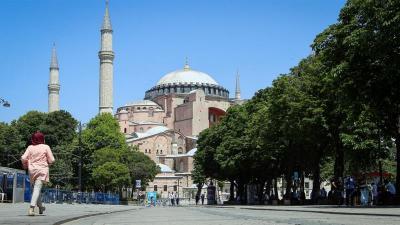 Muadzin Masjid Hagia Sophia Meninggal Dunia