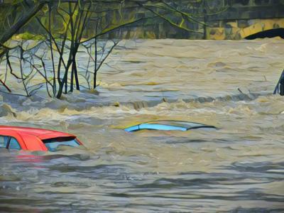 Korea Selatan Dikepung Banjir dan Longsor Usai Hujan Lebat Berhari-hari