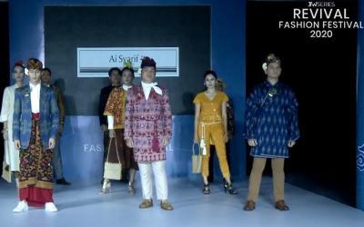 Keindahan Batik Lasem dan Tenun Gianyar di Virtual RFF 2020