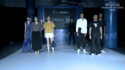 Bernuansa Rintik, Intip Fashion Karya Eureka di Revival Fashion Festival 2020