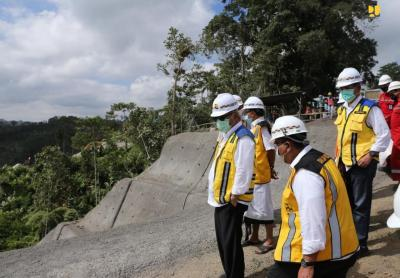 Menteri Basuki Instruksikan Bendungan Sidan Rampung di 2022