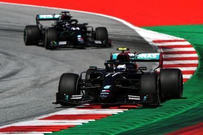 Hasil Latihan Bebas 1 F1 70th Anniversary GP 2020, Mercedes Berjaya