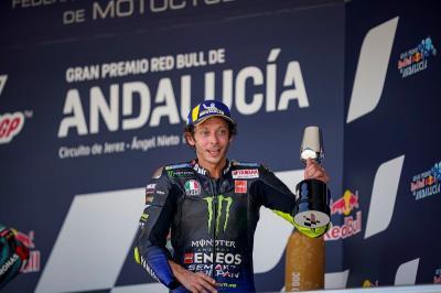 Sedih Sirkuit Brno Bakal Sepi, Rossi: Kami Akan Berusaha Hibur Penggemar di Rumah