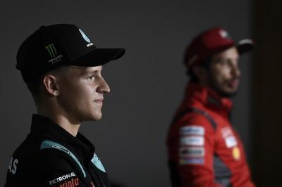 Marquez Absen di Brno, Quartararo: Kejuaraan Takkan Berubah Tanpanya!