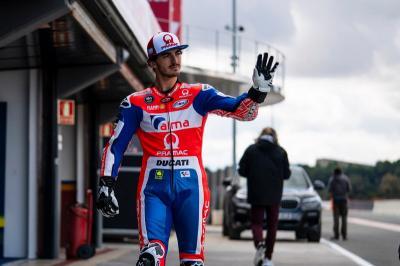 Diisukan Gantikan Dovizioso di Pabrikan Ducati, Ini Respons Bagnaia