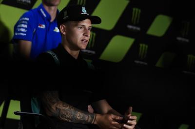 Quartararo Ikut Stres saat Sergio Perez Dinyatakan Positif Covid-19