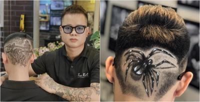 Keren! Tukang Cukur Ini Jadikan Potongan Rambut Pelanggan Karya Seni
