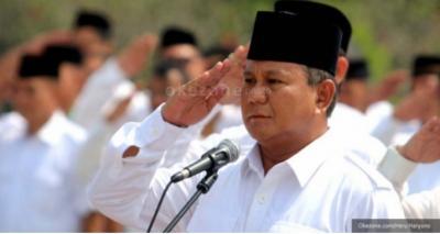 Sah! Prabowo Subianto Kembali Menjadi Ketua Umum Partai Gerindra