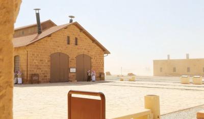 Museum Kereta Api Hijaz Peninggalan Khalifah Turki Usmani di Madinah