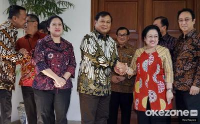 Sambutan Mega untuk Prabowo Jadi Sinyal Koalisi PDIP-Gerindra di 2024