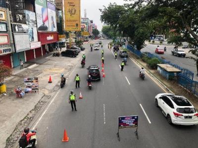 Tak Pakai Masker di Tempat Umum, Puluhan Warga Kota Bogor Didata