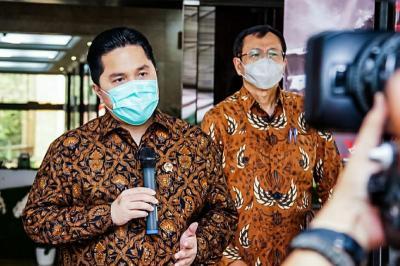 Jadi Ketua Tim Penanganan Covid-19 dan PEN, Erick Thohir: Kita Tak Ambil Posisi Doni Monardo