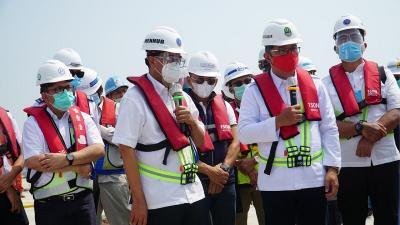 Sudah 77,3%, Terminal Pelabuhan Patimban Siap Soft Opening November 2020