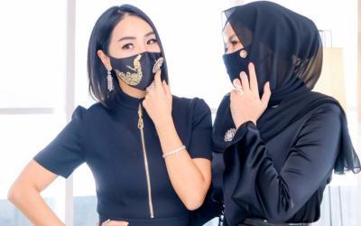 Masker Berlian Cuma untuk Sultan, Harganya Rp10 Juta