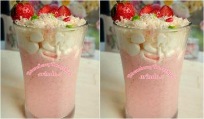 Resep Smoothies Stroberi Cocok Diminum Siang Bolong, Segar Banget!