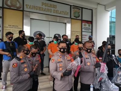 Pelaku Penembakan Misterius di Tangsel Ngaku Beraksi untuk Bubarkan Balapan Liar