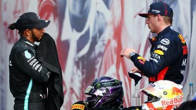 Hamilton Nilai Verstappen Pantas Menang di F1 70th Anniversary GP 2020