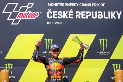 Binder Masih Tak Sangka Bisa Ukir Sejarah di MotoGP