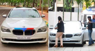 BMW Seri 7 Bernomor Pelat Cantik 555 Dijual, Bekas Milik Shah Rukh Khan