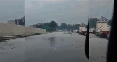 Tol Padaleunyi Banjir, Diduga Akibat Proyek Kereta Cepat