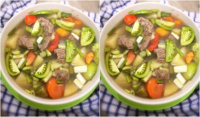 Sup Daging Sapi, Kuah Hangatnya Cocok Disantap saat Hujan