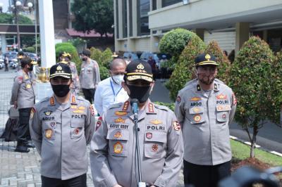 Wakapolri Gatot Eddy Dampingi Erick Thohir di Komite Penanganan Covid-19