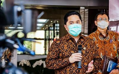 Erick Thohir Sebut Bangsa Lain Kaget Lihat Indonesia Berhasil Uji Vaksin