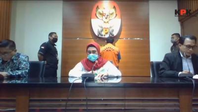 KPK Tahan Mantan Bupati Bogor Rachmat Yasin