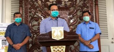 Gubernur Anies Akan Jelaskan Perpanjangan PSBB Transisi Fase I Hari Ini